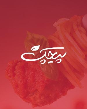 طراحی سایت شرکتی مربوط به صنایع غذایی