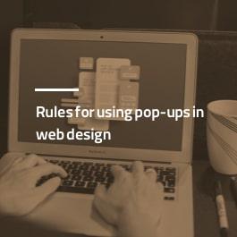 قواعد استفاده از پاپ آپ در طراحی سایت