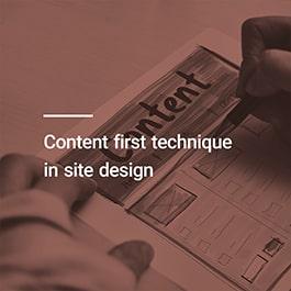 طراحی سایت بر اساس محتوا به چه معناست؟
