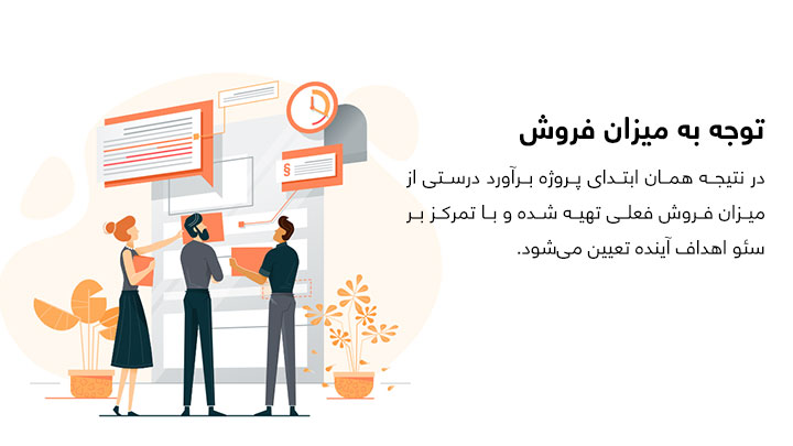 تعیین قیمت پروژه سئو براساس میزان فروش و موفقیت سایت