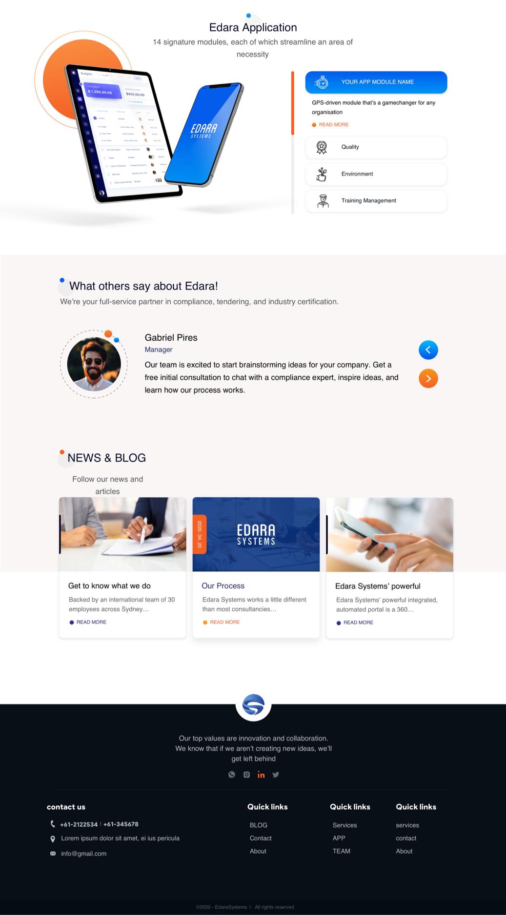 سایت اِدارا || طراحی شده توسط آژانس خلاقیت وبسیما
